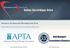Click for Resourceful Recordings Webstore